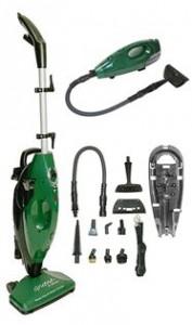 Gruene Clean System Steam Mop and Handheld Steam