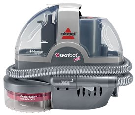 Bissell Spot Bot Pet Hands Free Spot and Stain Cleaner with Deep Reach Technology 33NP